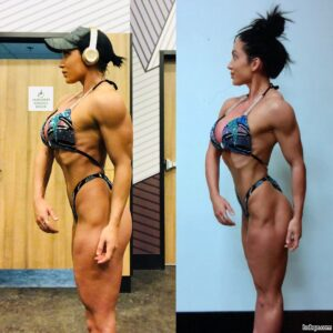 awesome female with strong body and toned bottom post from reddit