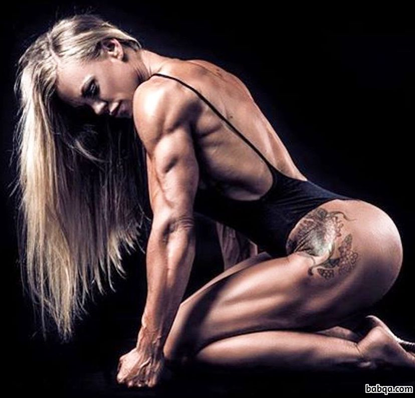 perfect babe with strong body and toned arms repost from reddit