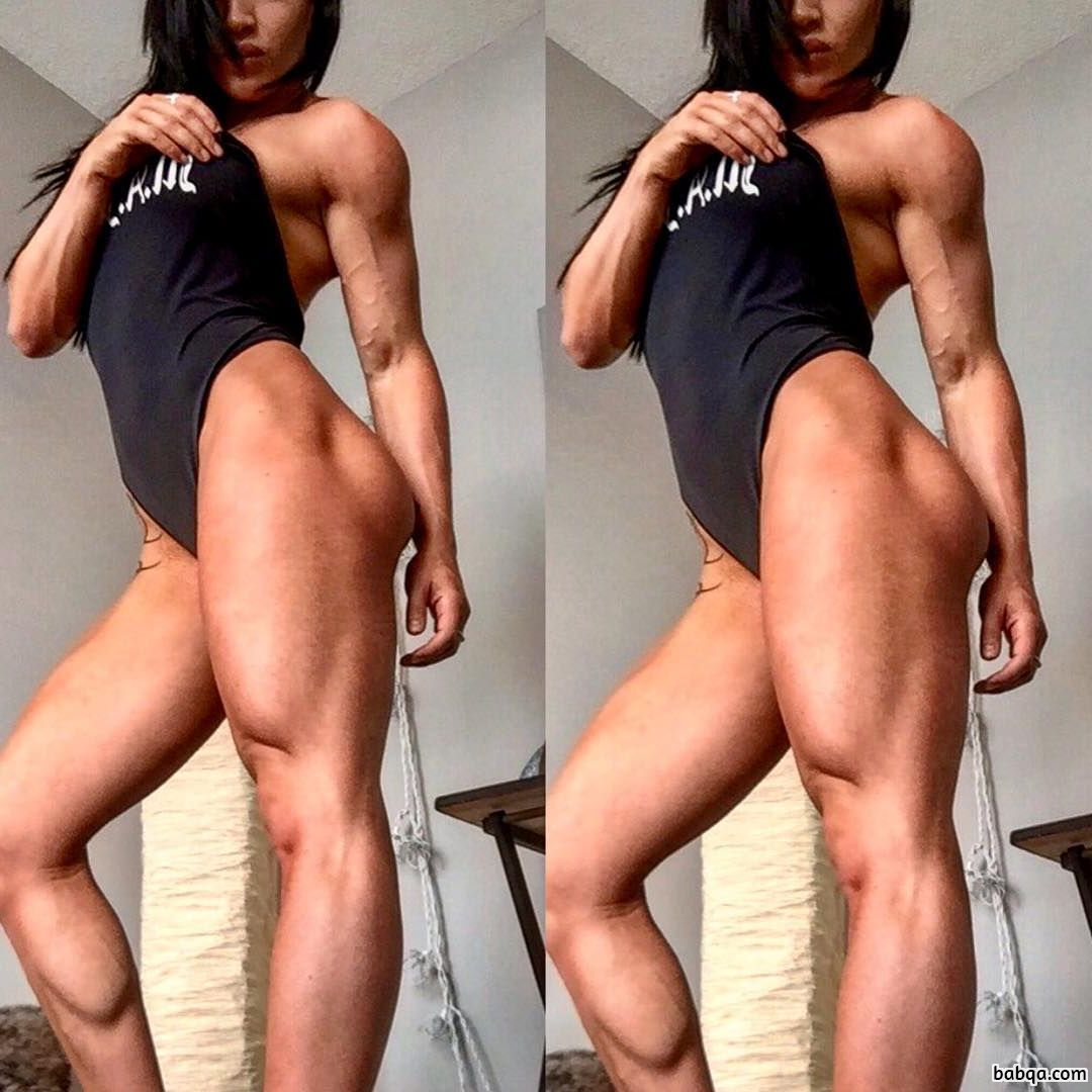 awesome woman with muscular body and toned bottom pic from facebook