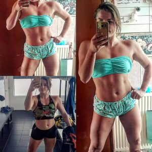 perfect lady with strong body and muscle bottom pic from linkedin