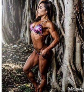 cute girl with strong body and toned legs image from reddit