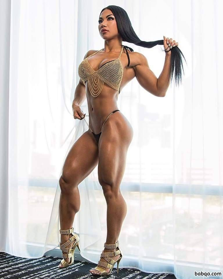 beautiful chick with strong body and toned legs picture from g+