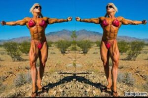 awesome female bodybuilder with muscle body and muscle legs pic from g+