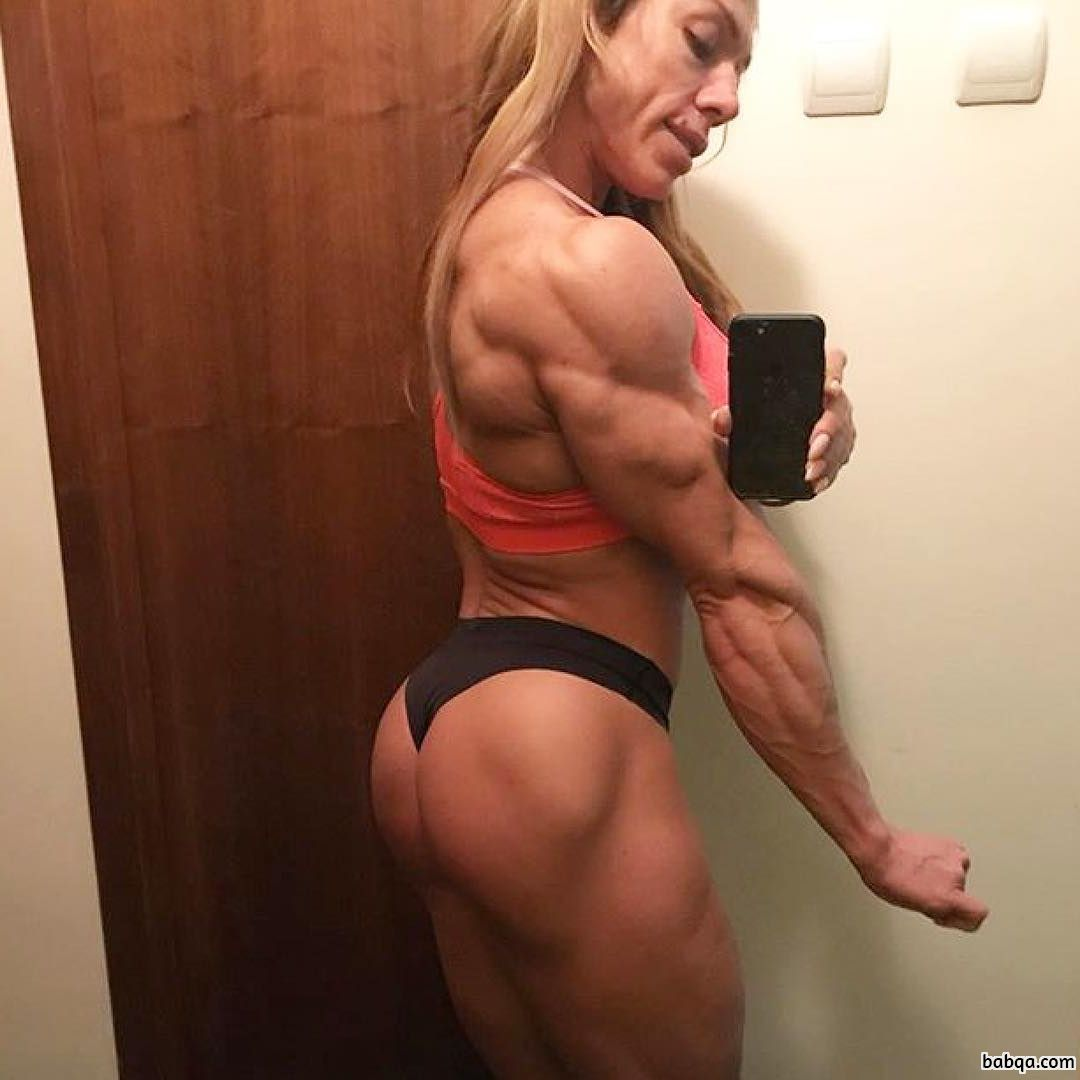 hottest woman with muscle body and muscle ass picture from tumblr