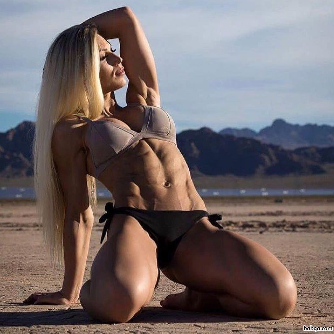 spicy lady with muscle body and toned ass post from facebook