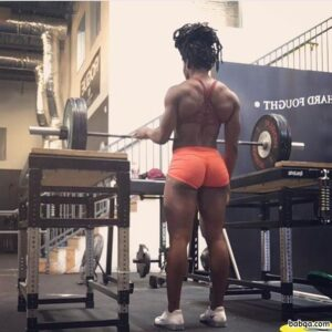 hot female bodybuilder with fitness body and toned arms picture from flickr