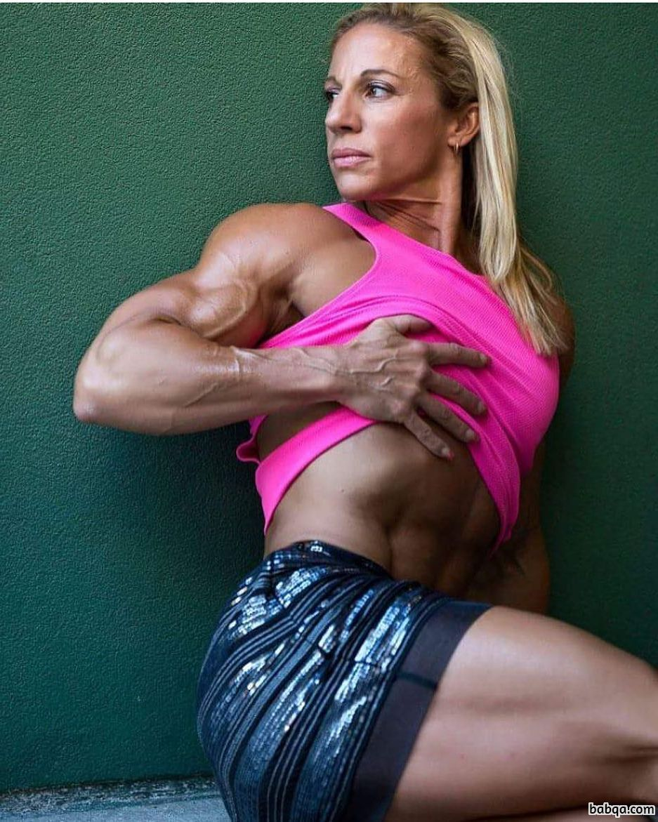 cute female with fitness body and toned arms image from tumblr