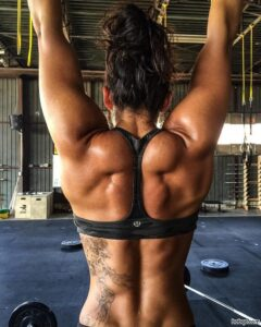 hottest female with fitness body and muscle bottom pic from reddit