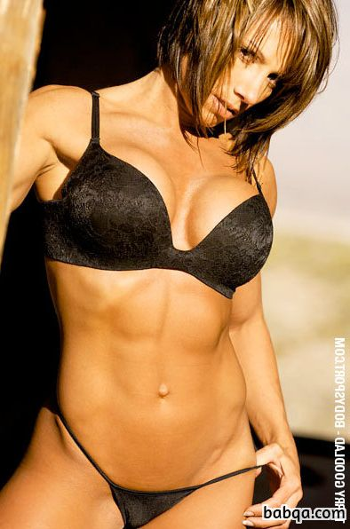 perfect woman with fitness body and toned legs post from g+