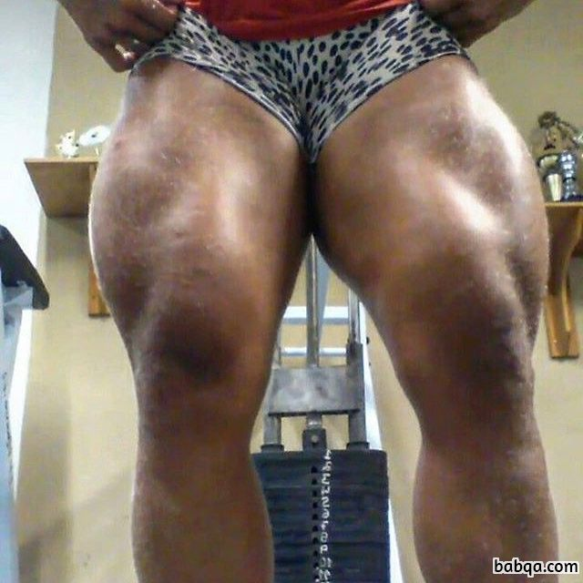 spicy girl with muscle body and toned legs picture from tumblr