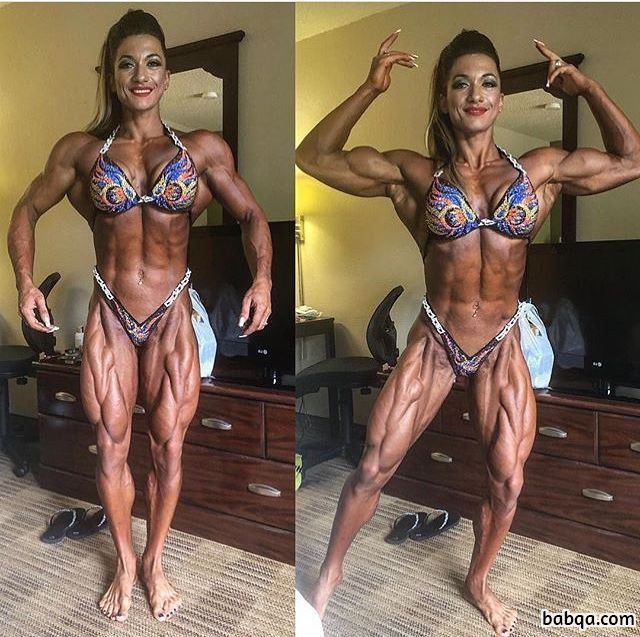hot girl with muscle body and muscle booty picture from linkedin