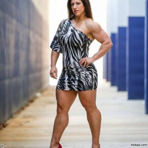 beautiful female bodybuilder with muscle body and toned ass repost from flickr
