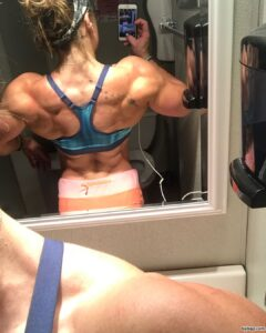 hot babe with muscle body and muscle ass repost from linkedin