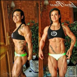 beautiful female bodybuilder with muscular body and muscle bottom picture from reddit