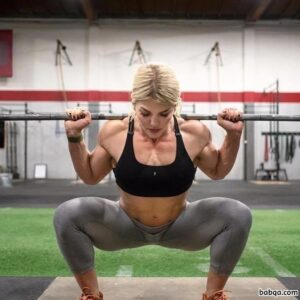 awesome female bodybuilder with muscle body and toned legs photo from instagram