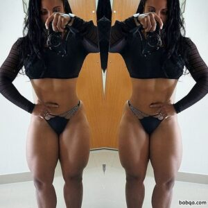 perfect woman with fitness body and toned bottom post from facebook