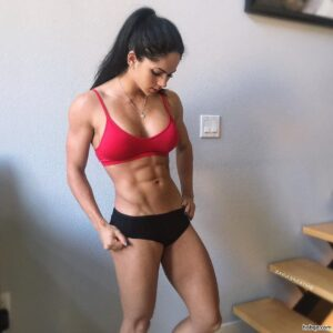 hot girl with muscle body and toned ass post from g+