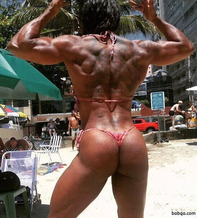 perfect babe with muscular body and muscle ass photo from reddit