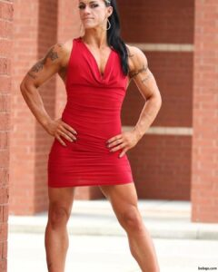 perfect female with fitness body and toned legs picture from linkedin