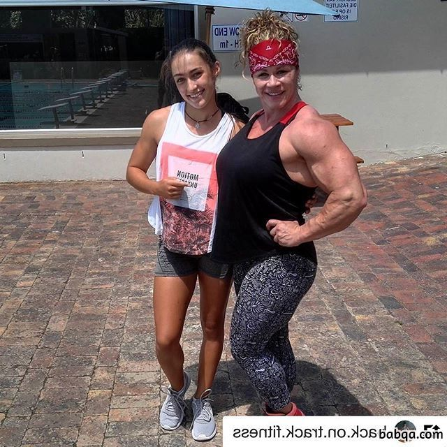 spicy female bodybuilder with fitness body and toned arms post from reddit
