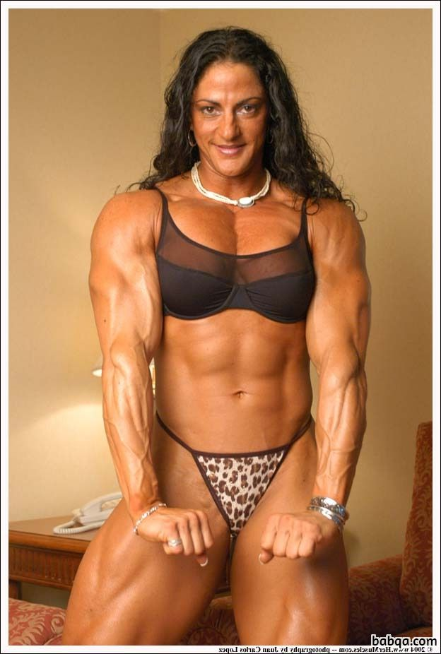 cute lady with muscle body and toned arms image from tumblr