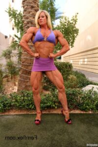 hottest woman with muscle body and toned legs pic from tumblr