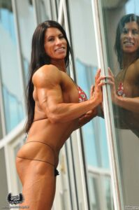 hot girl with muscle body and muscle arms image from flickr