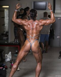 spicy babe with muscle body and muscle biceps repost from facebook