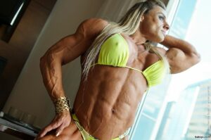 beautiful female with muscle body and toned bottom repost from linkedin