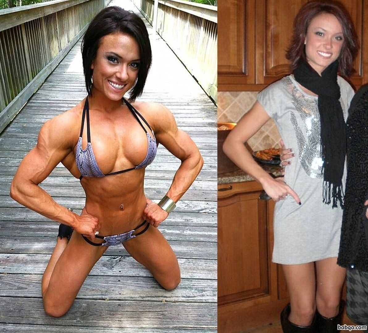 spicy girl with strong body and toned legs picture from facebook