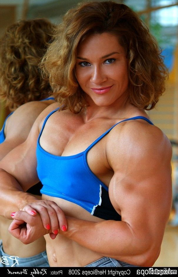 spicy female with muscle body and toned biceps image from reddit