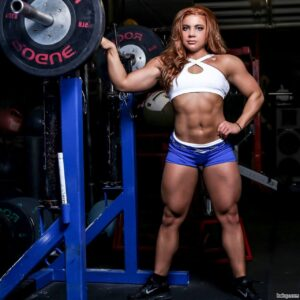 awesome girl with strong body and toned arms picture from reddit