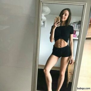 hottest female with fitness body and muscle booty picture from reddit