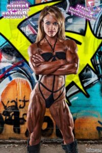hottest female with fitness body and toned biceps image from flickr