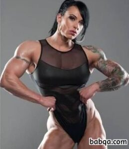 hottest lady with muscle body and toned ass post from reddit