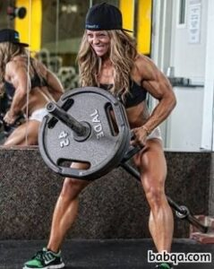 sexy lady with strong body and muscle legs repost from g+