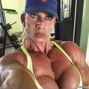 hottest babe with muscular body and muscle booty photo from linkedin