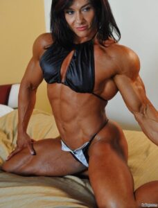 perfect female bodybuilder with strong body and muscle bottom post from linkedin