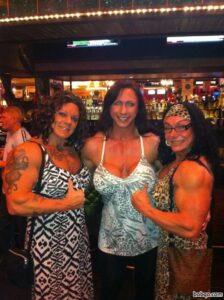 spicy girl with muscle body and muscle biceps pic from facebook