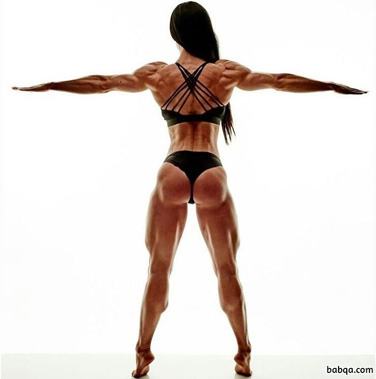perfect female with muscle body and muscle ass repost from flickr