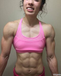 perfect girl with fitness body and toned arms photo from flickr