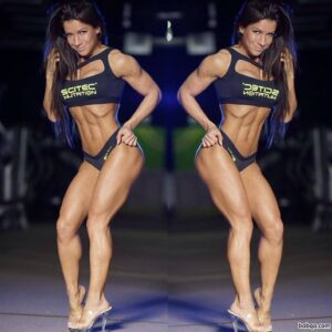 beautiful woman with strong body and toned booty image from g+