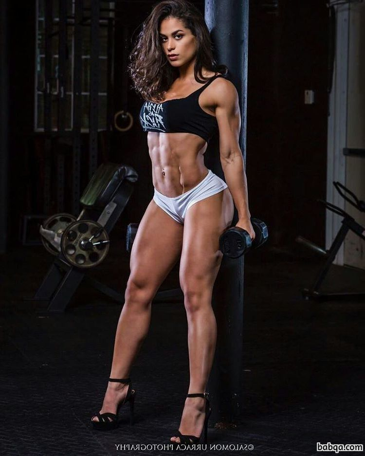 spicy chick with strong body and muscle biceps photo from linkedin
