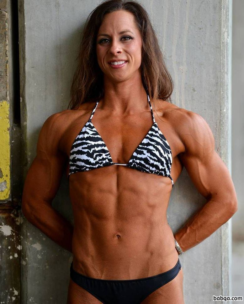 hot chick with muscle body and muscle bottom image from tumblr
