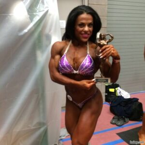 beautiful female bodybuilder with muscle body and toned biceps pic from tumblr