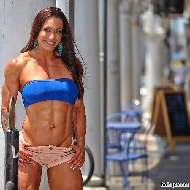 spicy female with strong body and muscle legs picture from reddit
