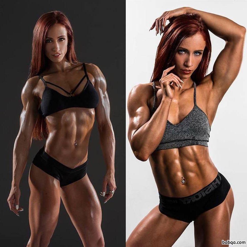 hot female with fitness body and muscle bottom image from tumblr