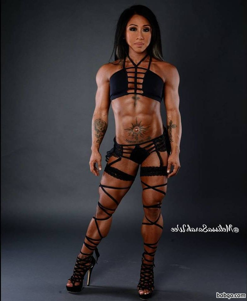 spicy female bodybuilder with strong body and muscle bottom picture from flickr