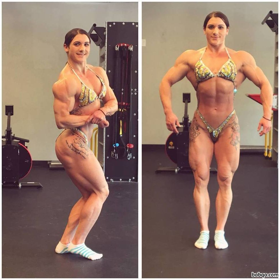 hottest chick with muscle body and muscle arms post from tumblr