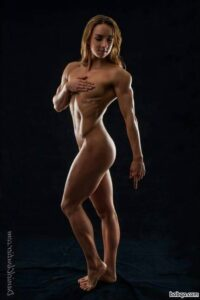 perfect chick with strong body and toned legs photo from facebook